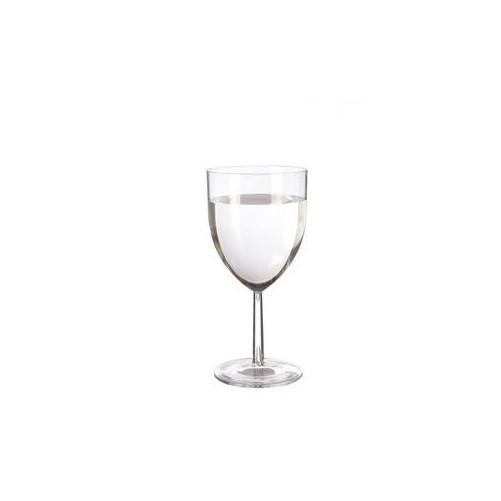 Verre à vin gradué 30 cl, en polystyrène réutilisable - Boîte de 48