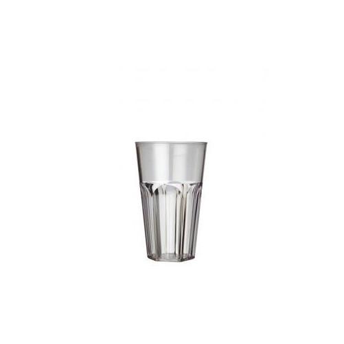 Verre long drink 34cl en polystyrène réutilisable - Boîte de 36