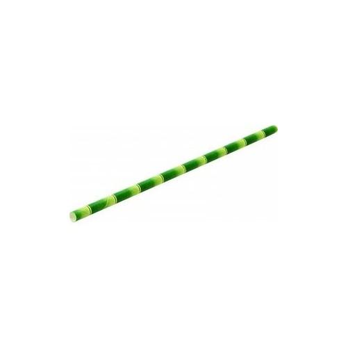 Pailles en papier bambou 6x200mm - B250
