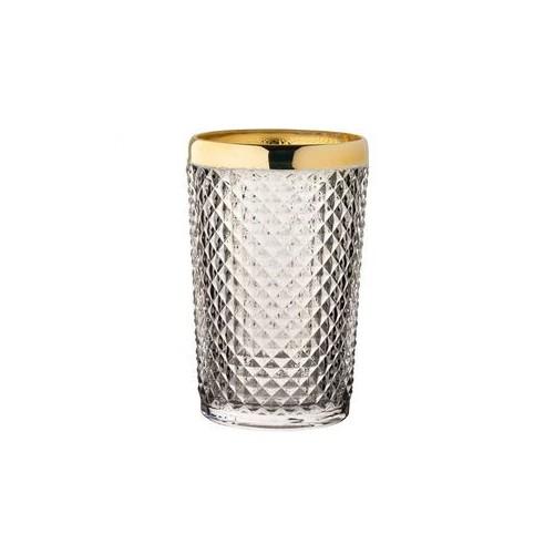 Verre long drink doré Tsar 39 cl - Boîte de 6