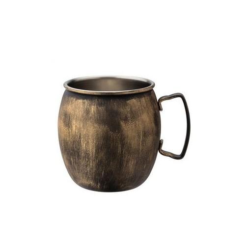 Moscow Mule mug ronde cuivre vintage - 62cl