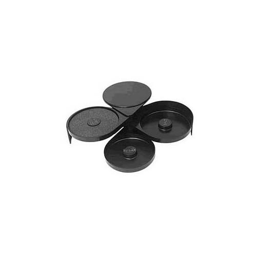 Système de givrage pour verres - Salt Rimmer 3 compartiments - D: 70x200x160mm. - Code article: UD050