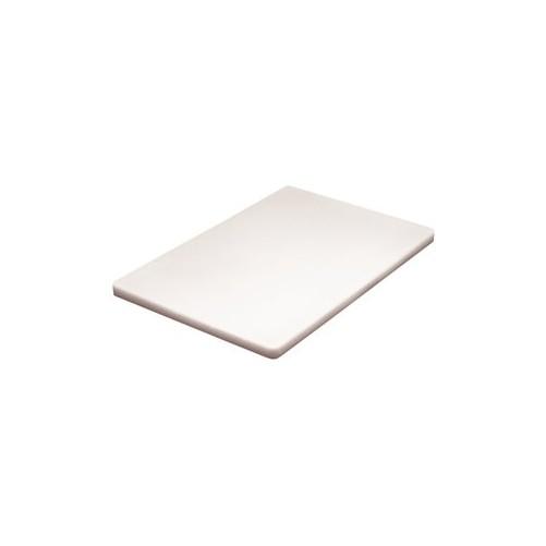 Planche à découper Blanche D: 457x305x13mm - Code article: CD070