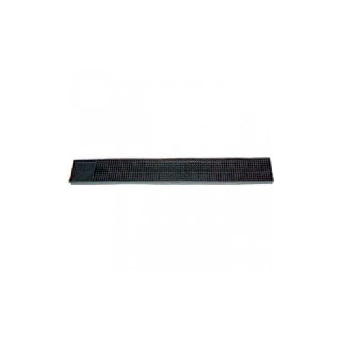 Tapis de Bar noir 60x8cm Bar mat en caoutchouc - Code article: TB015