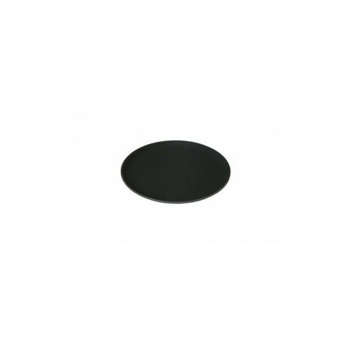 Plateau anti-dérapant - Ø280mm En plastique - Couleur noire - Code article: PS010