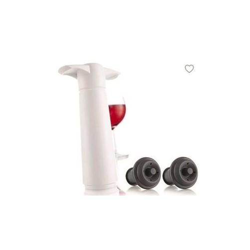 Pompe à vide + 2 bouchons Vacu-Vin - Code article: VC010