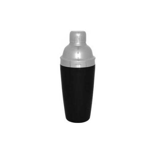 Shaker 3 pièces 28oz / 800ml avec gaine vinyle noire Cocktail shaker Parisien - Code article: CS370BLK