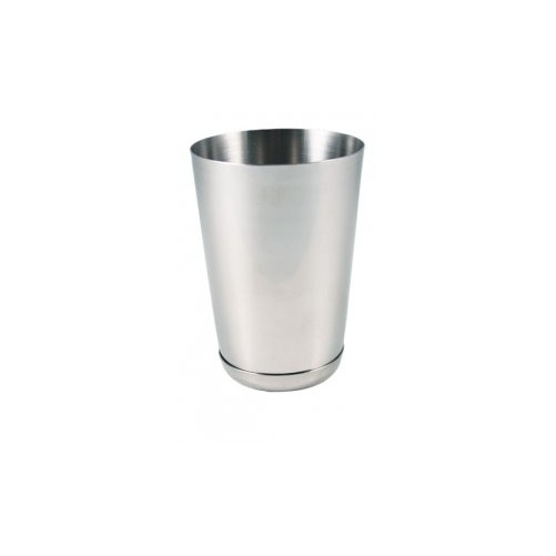 Shaker 16oz / 470ml lésté brossé Partie en inox secondaire lestée du boston shaker - Code article: CS016BM