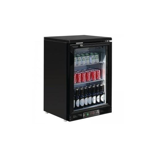 Arrière-bar finition noire 104 bouteilles Noir, 1 porte - Code article: VCRP1