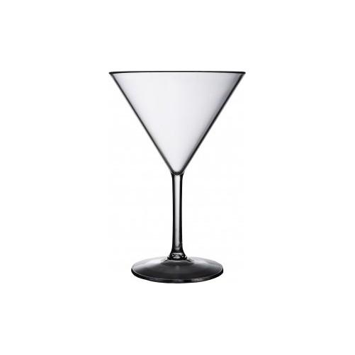 Verre à Martini 27.5cl en polycarbonate SERIE BAR - Carton de 40 - Code article: 969PC