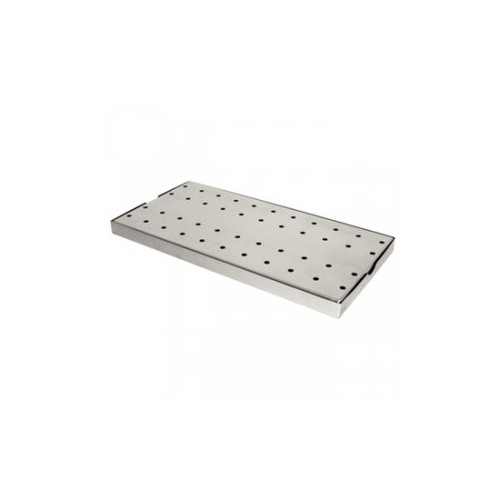 Bac récepteur en inox - 400 x 200 mm Code article: TB110