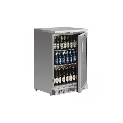 Arrière-bar inox 104 bouteilles Capacité : 104 bouteilles de 330ml . Corps acier inoxydable. - Code article: VCRIP1