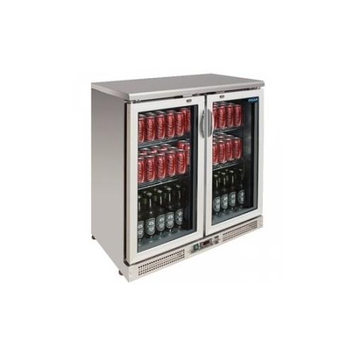 Arrière-bar 180 bouteilles Capacité 180 bouteilles de 330ml. Structure en inox. - Code article: VCRIP2