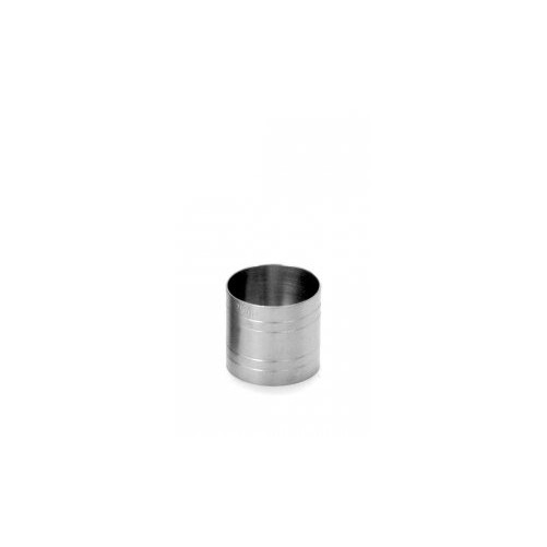 Mesure de bar tube 25ml Mesure en inox - Code article: MB25