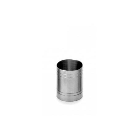 Mesure de bar tube 20x40ml Mesure en inox - Code article: MB2040