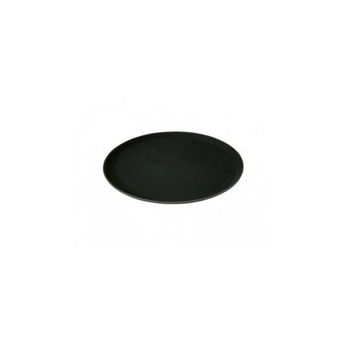 Plateau anti-dérapant - Ø356mm En plastique - Couleur noire - Code article: PS011