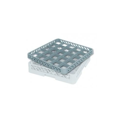 Rehausse de casier à verres 36 compartiments Ø max du verre : 73mm - Dimensions : H50 x L500 x l500mm - Code article : DM073
