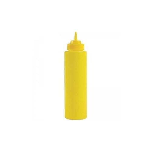 Squeeze bottle 22cl - Jaune En plastique souple - Code article: SB040J