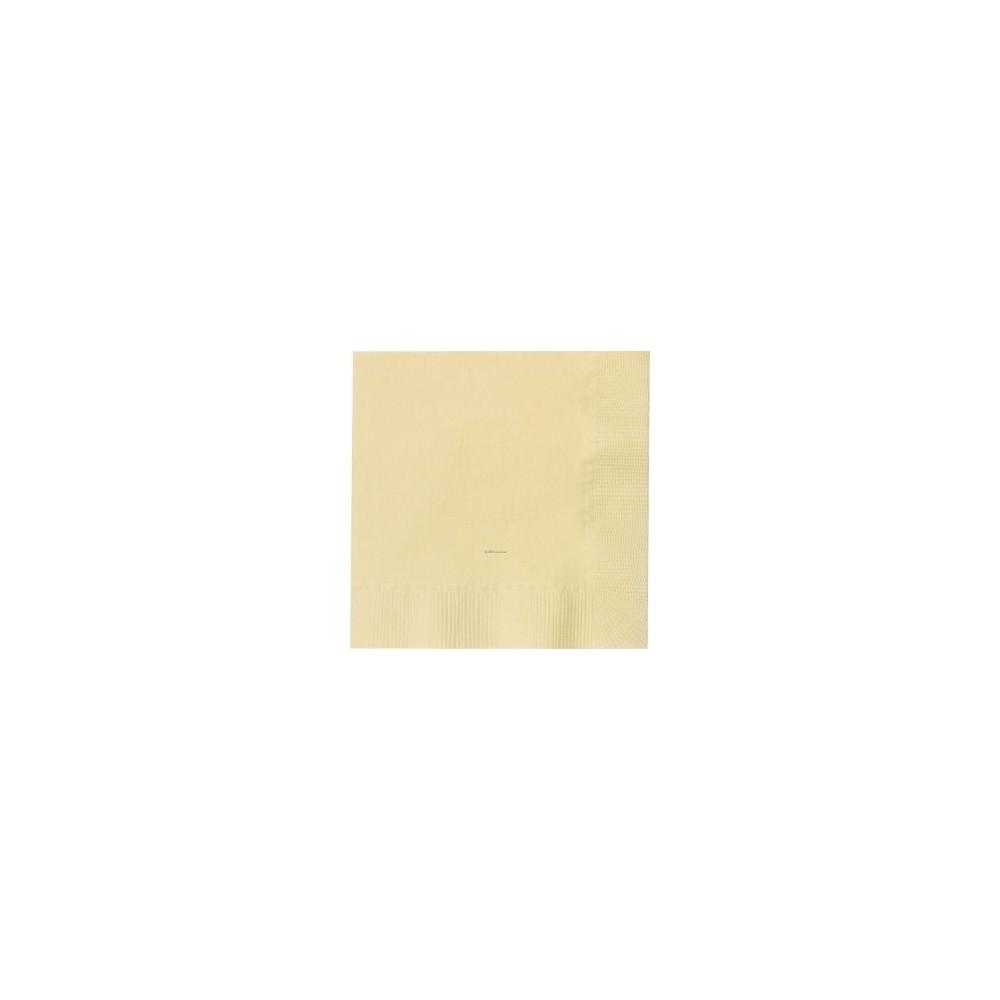 Serviettes ouate - couleur ivoire 20x20cm - carton de 1800 - Code article: 1919IVU