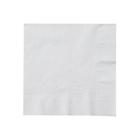 Serviettes ouate Blanche 20x20cm - sachet de 100 - Code article: 1919BLCU