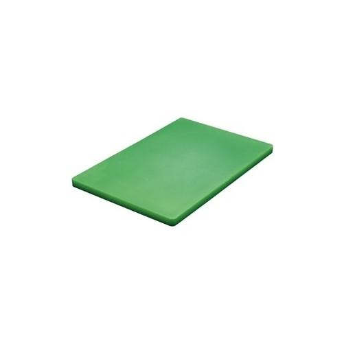 Planche à découper VERTE D: 457x305x13mm - Code article: CD075