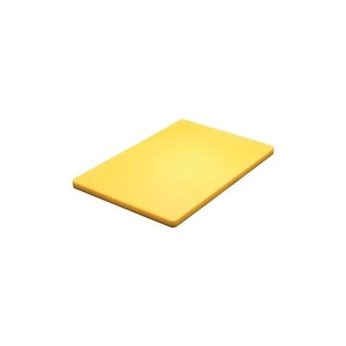 Planche à découper Jaune D: 457x305x13mm - Code article: CD072