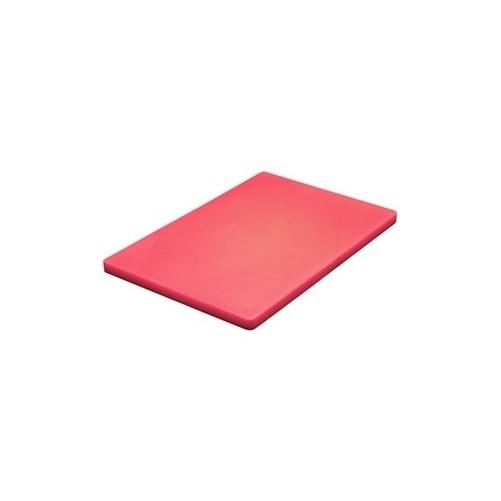 Planche à découper Rouge D: 457x305x13mm - Code article: CD074