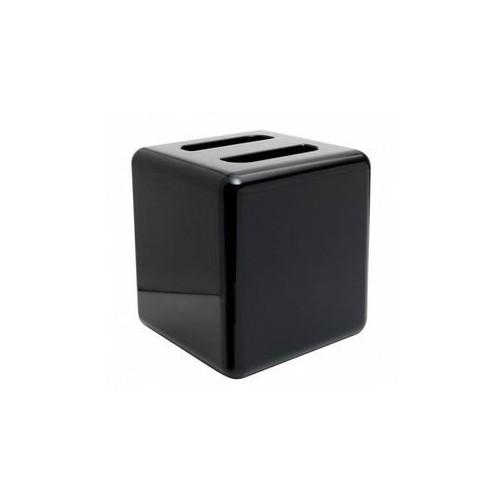 Seau à glace 5 litres carré En plastique - Couleur noire - Code article: UG115