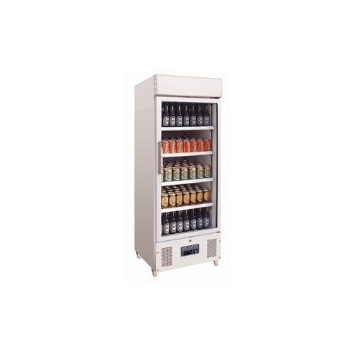 Vitrine réfrigérée haute 1 porte pivotante Capacité: 228 litres. - Code article: VRHP1
