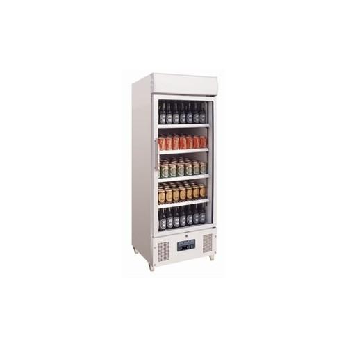 Vitrine réfrigérée haute 1 porte pivotante Capacité: 336 litres. - Code article: VRHP11