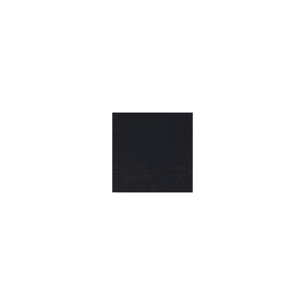 Serviettes ouate noire 20x20cm - sachet de 100 - Code article: 1919EBU