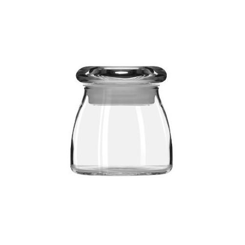 Pot en verre 13 cl avec couvercle de Libbey