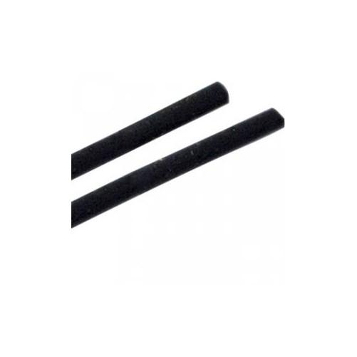 Pailles de bar noires droites 43 x 140 mm - Boîte de1000
