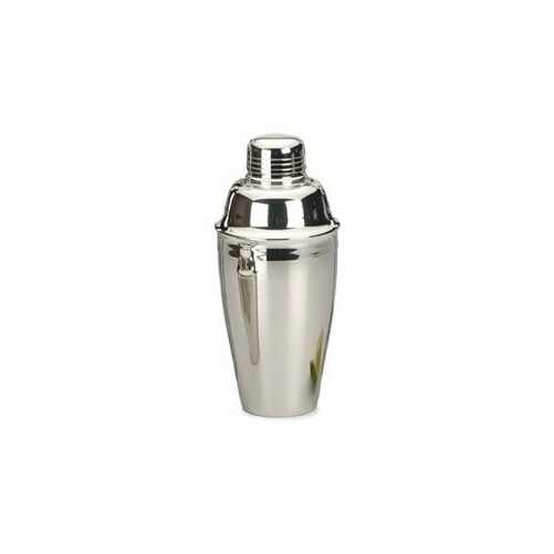 Cocktail shaker 3 pièces en inox - 300ml