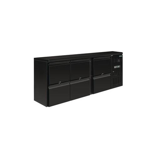 Arrière-bar Polar Série U 6 tiroirs