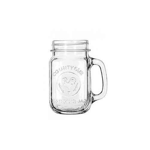 Drinking jar avec illustration 48.8 cl de Libbey - Boîte de 12