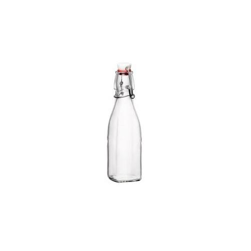 Bouteille en verre avec capsule 25 cl