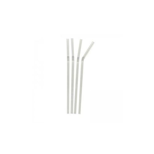 Pailles de bar crystal coudées 60x200mm - B250 Boîte de 250 - Code article: FSCC-6X200-BX