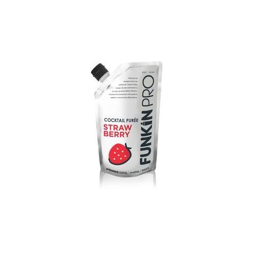 Purée de fraise Funkin - boite de 5 Code article : PFF07
