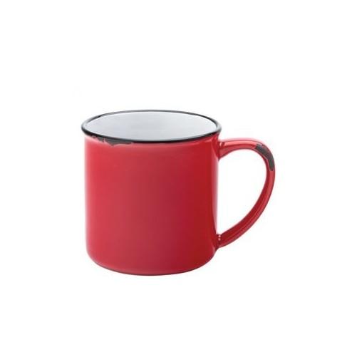 Mug Emaillé Rouge 28cl - AVEBURY Vendu à l'unité - Code article: BARSOTOP534