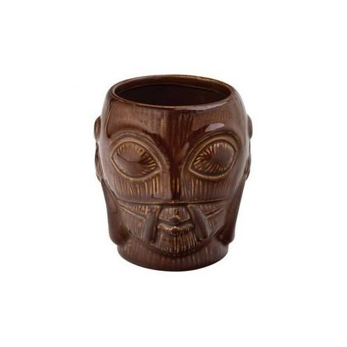 Tiki Mug Marron - Bora Bora 40cl Verre en céramique trempée - Code article: BARSOTOP3384