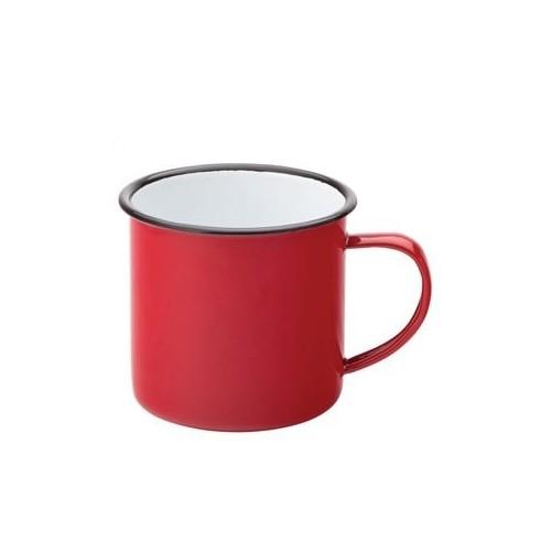 Mug Emaillé Rouge 38cl - EAGLE Vendu à l'unité - Code article: BARSOTOP1281