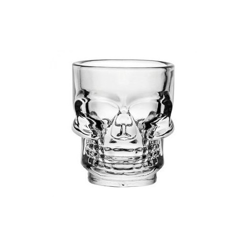 Tiki Shot Skull 4.5cl en verre - code article : BARSOTOP3333