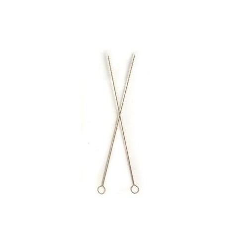 Brossette entretien 20cm - paille en bambou, paille en verre Vendu à l'unité - code article : BEP20