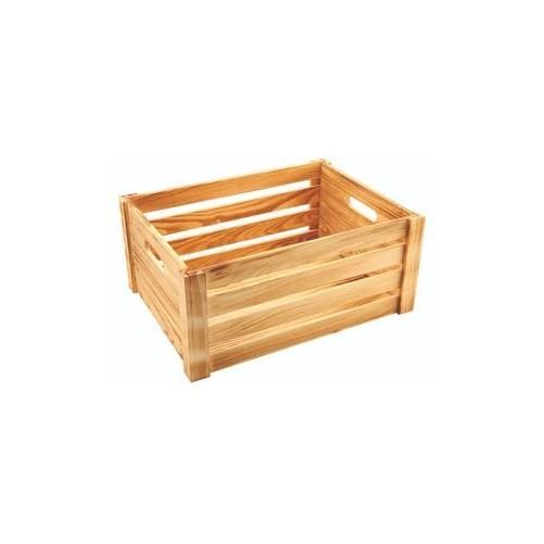 Caisse en bois finition rustique 41 x 30 x 18cm Code article: BARSONEV1963