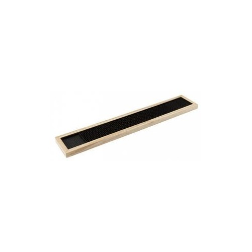 Tapis de bar avec cadre en bois - D: 63 x 11 x 2cm Code article: TB013