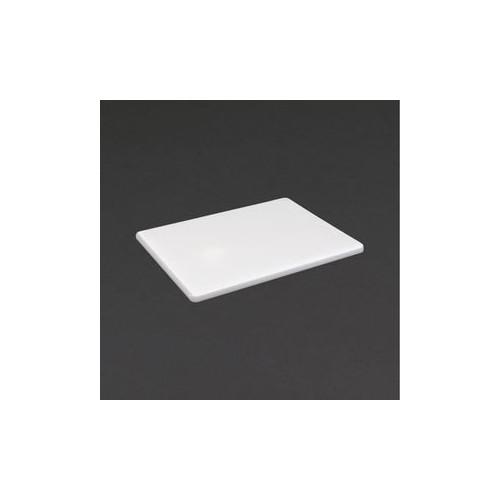 Petite planche à découper blanche D 229 x 305 x 12mm - Code article: CD076
