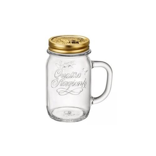 Drinking Jar Quatro Stragioni - 41,5 cl - Vendu à l'unité Code article : DJL48
