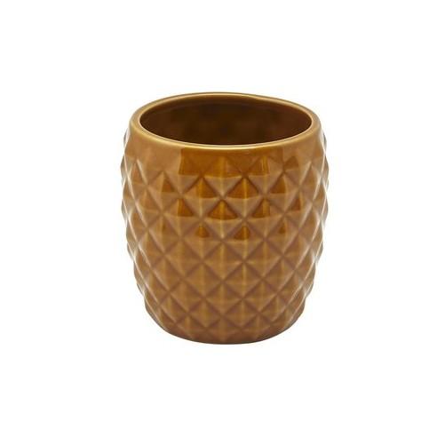 Tiki mug ananas, en céramique marron - 40 cl Vendu à l'unité - Code article : TIKI032