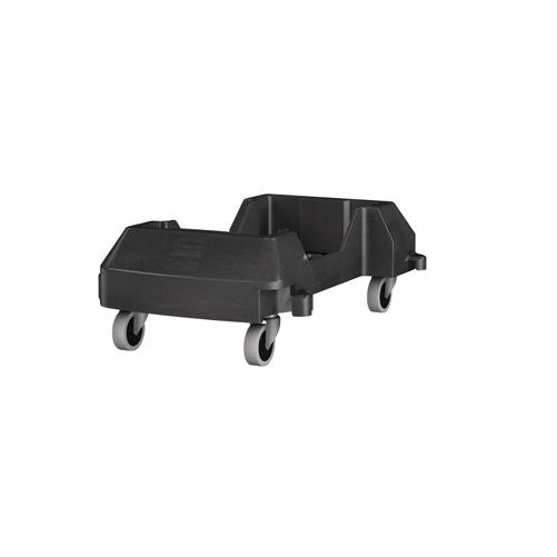 Chariot emboîtable pour poubelles Rubbermaid
